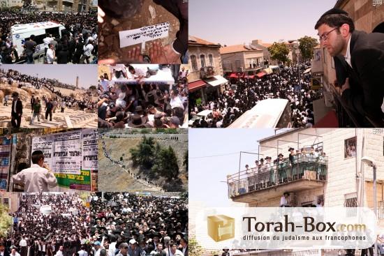 Enterrement du Rav Eleazar Abi'hssira